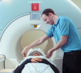 Photograph of MRI Scanning