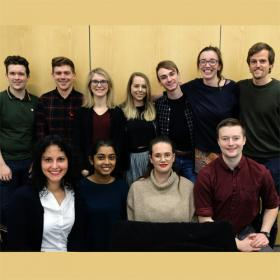 Photograph of our current SPRINT MND/MS PhD students