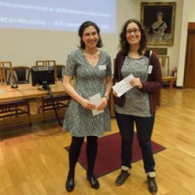 photograph of student talk winners